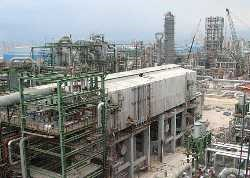 Construction Petrochemical Complex 9th Olefin of Asalouyeh Port (Aria-Sasol)